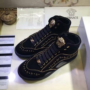 Wholesale Versace Men High Top 1087