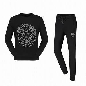 Wholesale Versace Men Hoodies Suits 1079